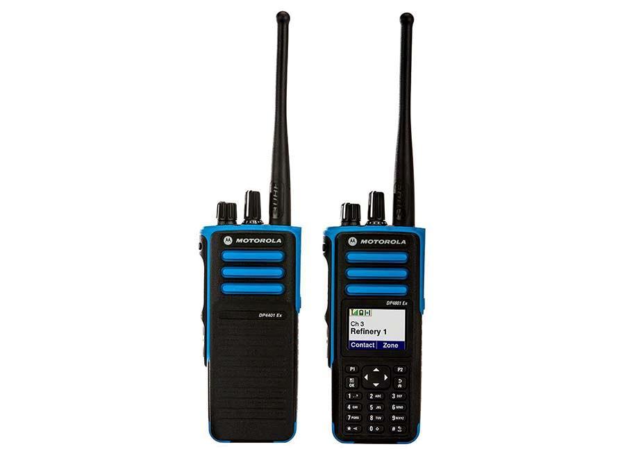 DP4000EX Series ATEX Digital Portable Two-Way Radio