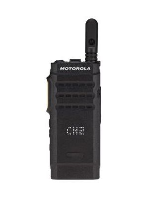 SL1600, MOTOTRBO SL1600 PORTABLE RADIO TM PORTABILITY AND SIMPLICITY REDEFINED The MOTOTRBO TM SL1600 provides reliable push-to-talk communication for the mobile, everyday user in an ultra-slim and rugged profile. Whether you're coordinating stewards at an event or managing workers in the field, the SL1600 is boldly designed to keep you efficiently connected.